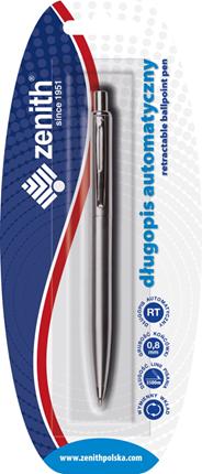 Zenith Silver Długopis w blistrze