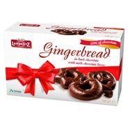 Lambertz Pierniki w czekoladzie mlecznej dekorowane czekoladą 500 g