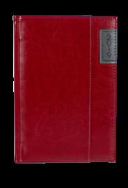Kalendarz A5 dzienny Standard Plus kolor burgund