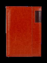Kalendarz A5 dzienny Standard Plus kolor jasny brąz