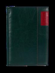 Kalendarz A5 dzienny Standard Plus kolor zielony