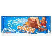 E. Wedel Cookie Czekolada mleczna z nadzieniem korzennym i herbatnikiem 290 g