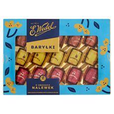 E. Wedel Baryłki z alkoholem o smakach nalewek w czekoladzie deserowej 300 g