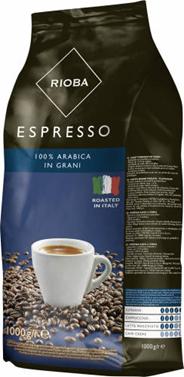 Rioba Espresso Kawa ziarnista prażona platinum 1 kg