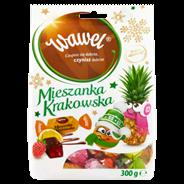 Wawel Mieszanka Krakowska Galaretki w czekoladzie 300 g