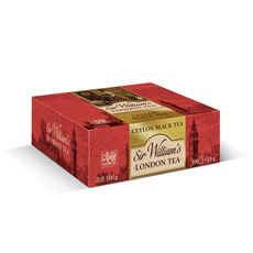 Sir William's Ceylon Herbata czarna 180 g (100 x 1,8 g)