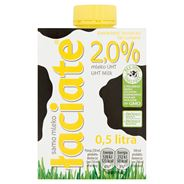 Łaciate Mleko UHT 2,0% 0,5 l 8 sztuk