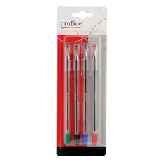 Profice Długopis różne kolory 4 sztuki