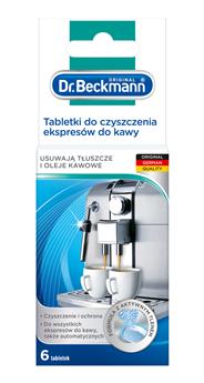Dr. Beckmann tabletki do czyszczenia ekspresów do kawy