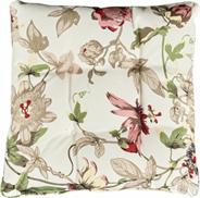 Poduszka na siedzisko w kwiaty
