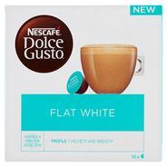 Nescafé Dolce Gusto Flat White Mleko i kawa w kapsułkach 187,2 g (16 x 11,7 g)