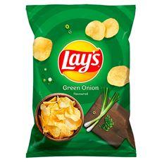 Lay's Chipsy ziemniaczane o smaku zielonej cebulki 40 g