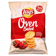 Lay's z Pieca Pieczone chipsy ziemniaczane o smaku grillowanej papryki 200 g