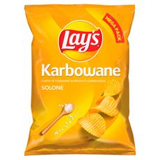 Lay's Chipsy ziemniaczane karbowane solone 210 g