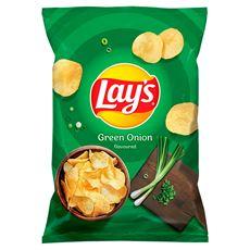 Lay's Chipsy ziemniaczane o smaku zielonej cebulki 70 g