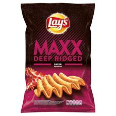 Lay's Maxx Chipsy ziemniaczane o smaku bekonu 130 g