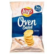 Lay's z Pieca Pieczone chipsy ziemniaczane solone 125 g