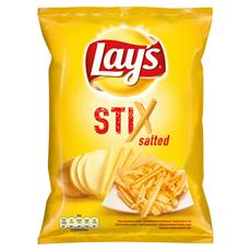 Lay's Stix Chipsy ziemniaczane solone 140 g