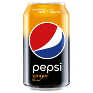 Pepsi Ginger Flavour Napój gazowany 330 ml 24 sztuki
