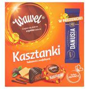 Wawel Kasztanki kakaowe z wafelkami Czekolada z nadzieniem 468 g