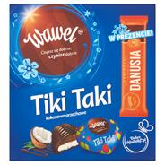 Wawel Tiki Taki kokosowo-orzechowe Czekolada z nadzieniem 468 g