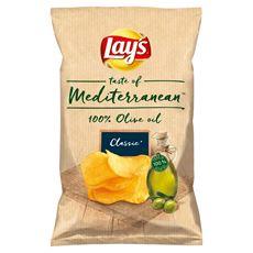 Lay's taste of Mediterranean Chipsy ziemniaczane solone 100 g