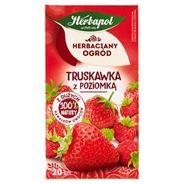 Herbapol Herbaciany Ogród Herbatka owocowo-ziołowa truskawka z poziomką 50 g (20 x 2,5 g)