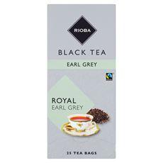Rioba Herbata czarna Earl Grey 25 saszetek