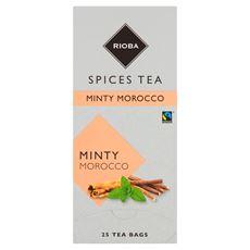 Rioba Herbata cynamonowo-miętowa 25 saszetek
