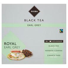 Rioba Herbata czarna Earl Grey 100 saszetek