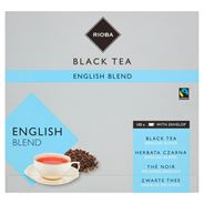 Rioba Herbata czarna English Blend 100 saszetek