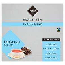 Rioba Herbata czarna English Blend 100 saszetek