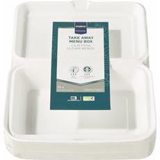 Makro Professional Biodegradowalne pokrywki do miski na zupę 450 ml 50 sztuk