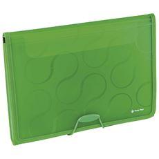 Panta Plast Omega Teczka 6 przegródek zielona A4