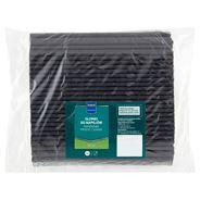 Makro Professional Słomki do napojów papierowe czarne 250 sztuk