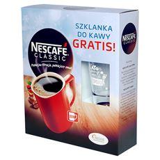 Nescafé Classic Kawa rozpuszczalna 600 g + szklanka