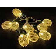 Komplet oświetleniowy ananasy, 10 LED