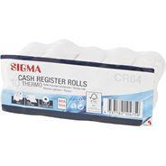 Sigma rolka kasowa termiczna bez BPA, 57mm x 10m, 10 szt.