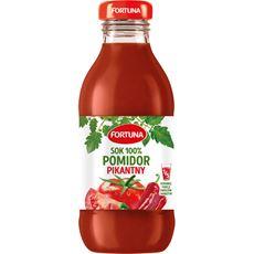 Fortuna Pomidor tabasco Sok 100% 300 ml 15 sztuk