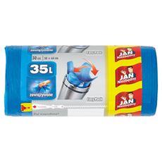 Jan Niezbędny Easy-Pack Worki na śmieci 35 l 30 sztuk 4 opakowania