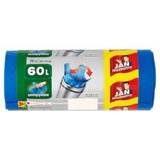 Jan Niezbędny Easy-Pack Worki na śmieci 60 l 20 sztuk 4 opakowania