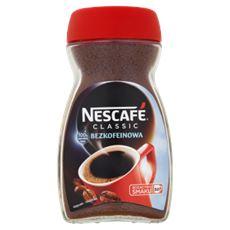 Nescafé Classic Bezkofeinowa kawa rozpuszczalna 100 g