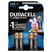 Duracell Turbo MN2400 Baterie alkaliczne AAA LR03 1,5 V 4 sztuki