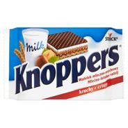 Knoppers Wafelek mleczno-orzechowy 25 g 24 sztuki