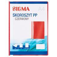 Sigma Skoroszyt czerwony 25 sztuk