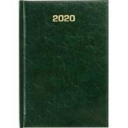 Kalendarz książkowy tygodniowy A4 ZIELONY 2020