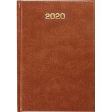 Kalendarz książkowy tygodniowy A4 BRĄZ 2020