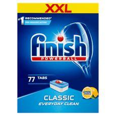 Finish Classic Lemon Tabletki do zmywarki 1232 g (77 sztuk)