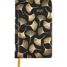 Kalendarz książkowy tygodniowy A6 2020 miłorząb