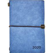 Kalendarz książkowy tygodniowy B6 2020 niebieski